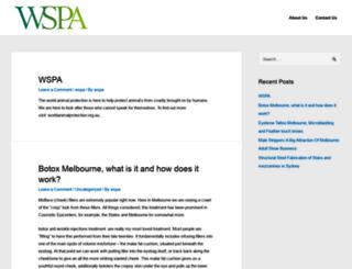 wspa.org.au screenshot