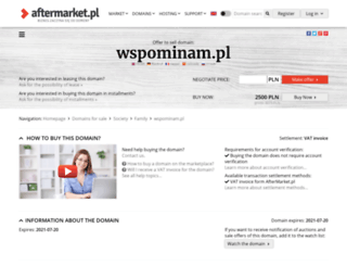 wspominam.pl screenshot