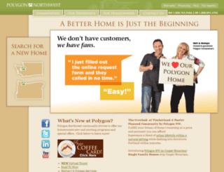 wsr.polygonhomes.com screenshot