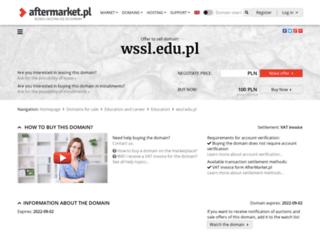 wssl.edu.pl screenshot