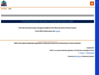 wsst.wildapricot.org screenshot