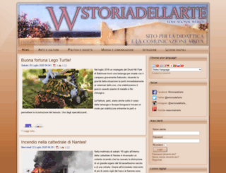 wstoriadellarte.eu screenshot