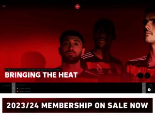 wswanderersfc.com.au screenshot
