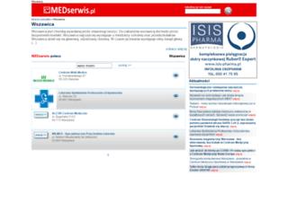 wszawica.medserwis.pl screenshot