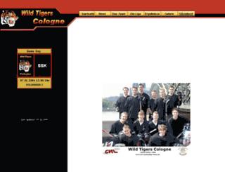 wtc.hockeyliga-koeln.de screenshot