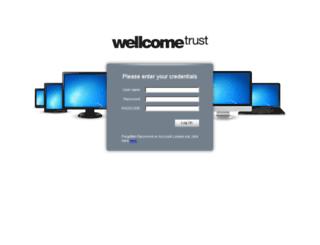 wtconnect.wellcome.ac.uk screenshot