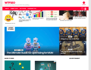 wtfseo.com screenshot