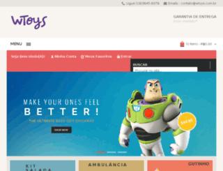 wtoys.com.br screenshot