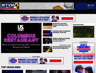 wtvm.com screenshot
