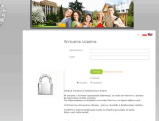 wu.aon.edu.pl screenshot