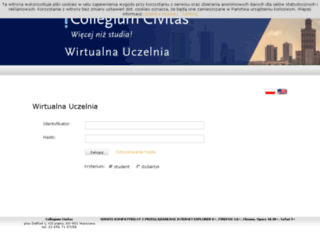 wu.civitas.edu.pl screenshot