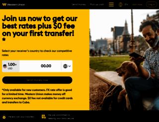 wu.com screenshot