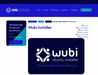 wubi-installer.org screenshot