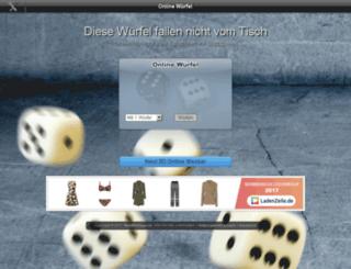 wuerfel.miniwebapps.de screenshot