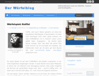 wuerfelblog.de screenshot