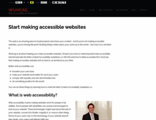 wuhcag.com screenshot