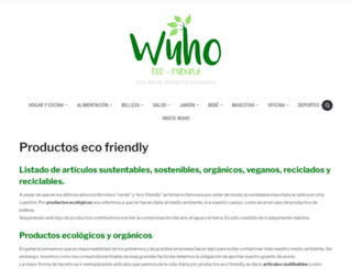 wuho.org screenshot