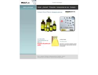 wulflab.com screenshot