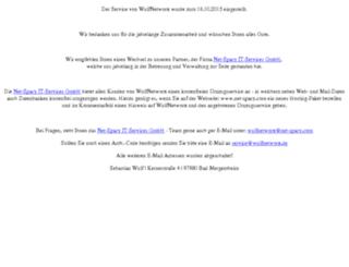 wulfnetworx.de screenshot
