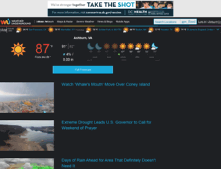 wund.com screenshot