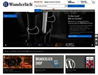 wunderlich-bmw.com screenshot