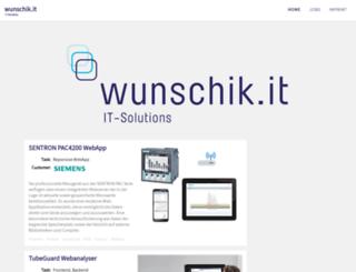 wunschik.it screenshot