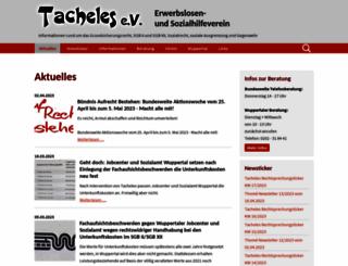 wuppertal.tacheles-sozialhilfe.de screenshot