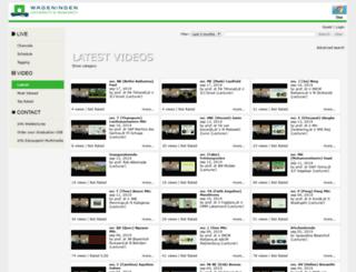 wurtv.wur.nl screenshot