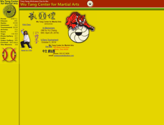 wutangcenter.com screenshot