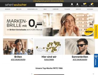 wutscher-optik.at screenshot