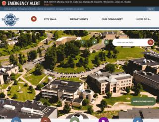 wv-fairmont.civicplus.com screenshot