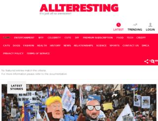 wv.allteresting.com screenshot