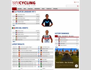 wvcycling.com screenshot