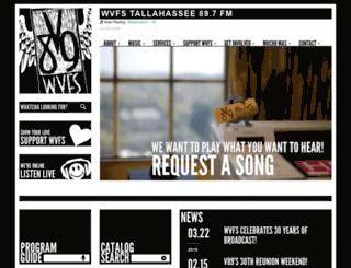wvfs.fsu.edu screenshot