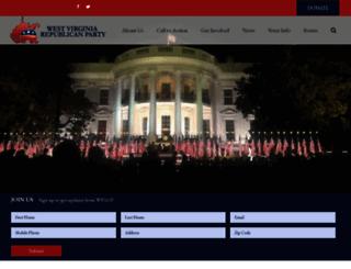 wvgop.org screenshot
