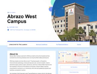 wvhospital.com screenshot