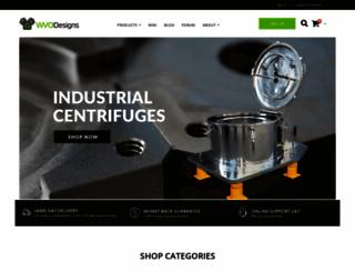 wvodesigns.com screenshot