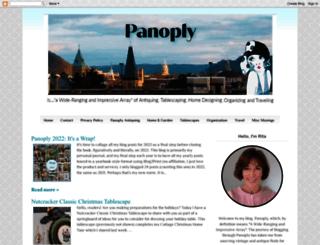 wvpanoply.blogspot.com screenshot