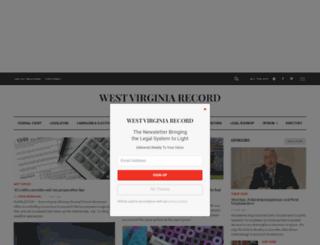 wvrecord.com screenshot