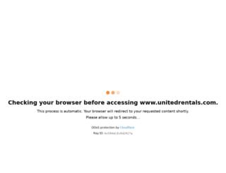 wvw.unitedrentals.com screenshot