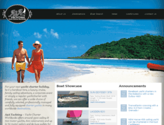 ww.a2a-yachting.net screenshot