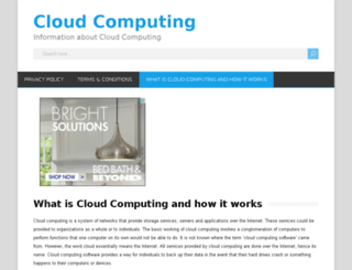 ww.cloudcomputingtime.com screenshot