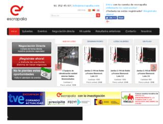 ww.escrapalia.com screenshot