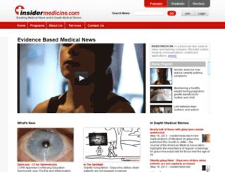 ww.insidermedicine.com screenshot
