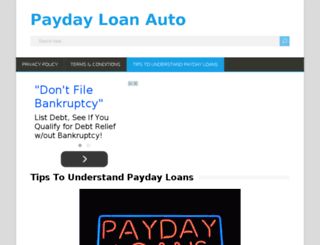 ww.paydayloanauto.com screenshot