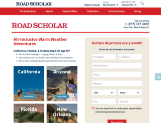 ww.roadscholaradventures.org screenshot