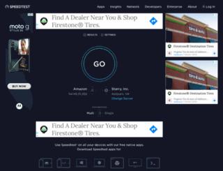 ww.speedtest.net screenshot