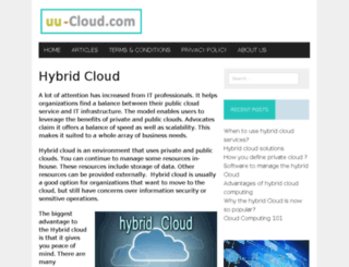 ww.uu-cloud.com screenshot