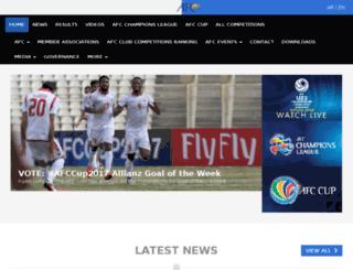 ww1.the-afc.com screenshot