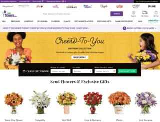 ww12.1800flowers.com screenshot